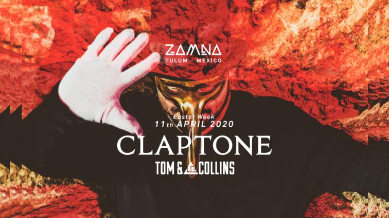 Claptone, próximo invitado de Zamna Tulum