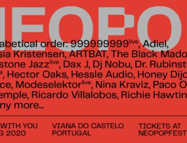 NEOPOP FESTIVAL amplia el line-up de su edición 2020
