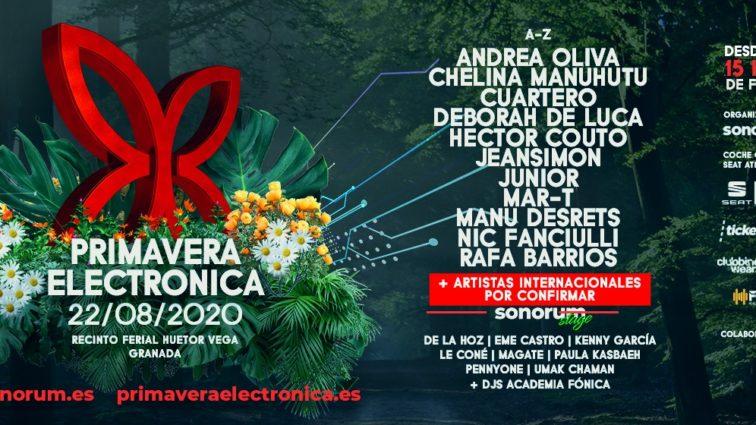 Nueva fecha para Primavera Electrónica 2020 en Agosto!