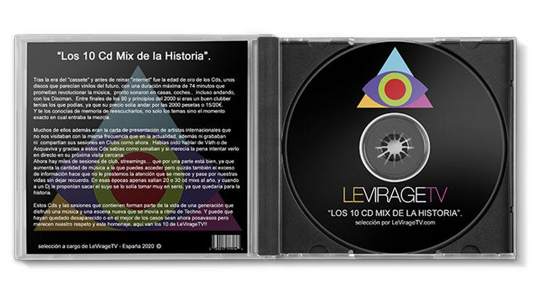 Los 10 Cd Mix de la Historia.