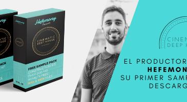 EL PRODUCTOR MADRILEÑO HEFEMONY PRESENTA SU PRIMER SAMPLE PACK EN DESCARGA GRATUITA.
