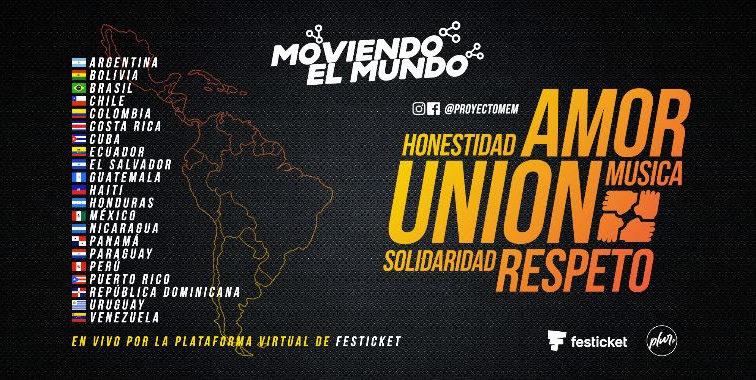MOVIENDO EL MUNDO :  EL PROYECTO SOLIDARIO QUE LANZA LA PLATAFORMA PLUR TV PARA TODA LATINOAMÉRICA.