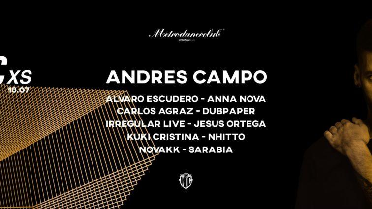 Metro XS se presenta con Andrés Campo 18.07.20