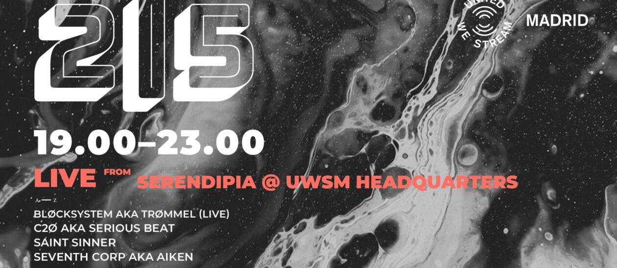 live from Serendipia @ UWSM Headquarters