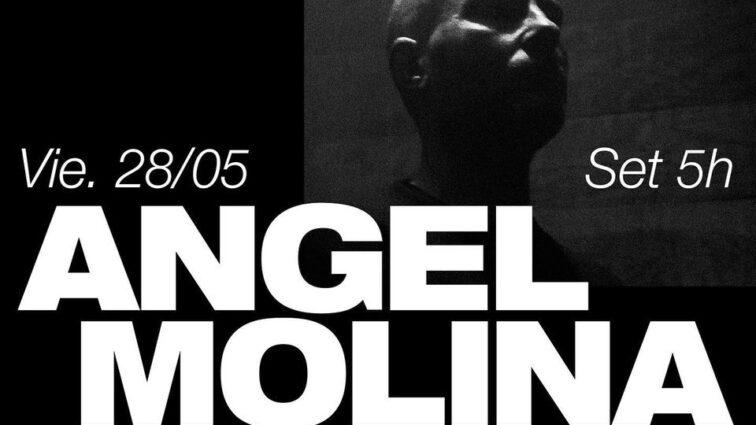 Vuelve el Techno a Industrial Copera con Angel Molina.