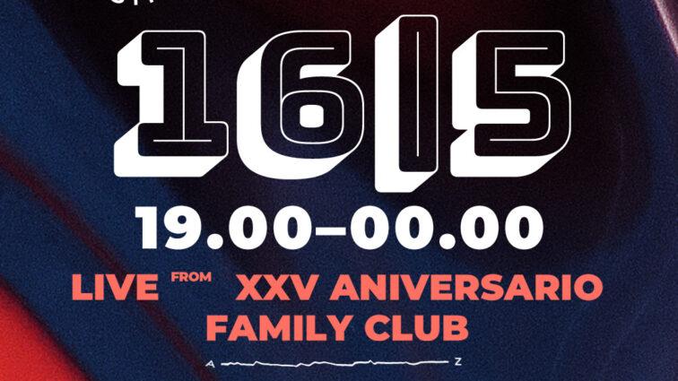 Family Club anuncia su XXV Aniversario junto a United We Stream Spain