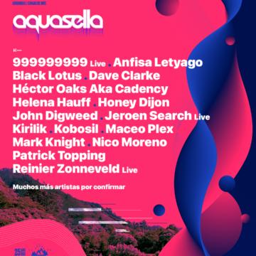 Aquasella 2022 18-19-20-21 Agosto – Primer avance de cartel: