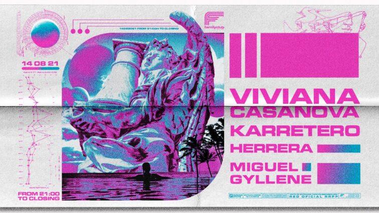 Family Club 14/8 – Viviana Casanova + Karretero + Herrera + Miguel Gyllene
