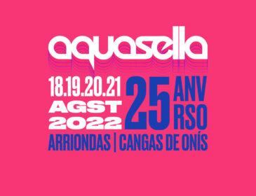 Cartel Actualizado de Aquasella Fest 2022 con las nuevas incorporaciones.