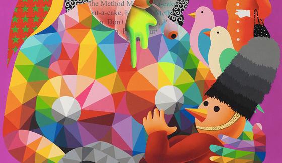 «Freedom is the new rainbow», próxima exposición de Okuda San Miguel en Dorothy Circus (Londres).