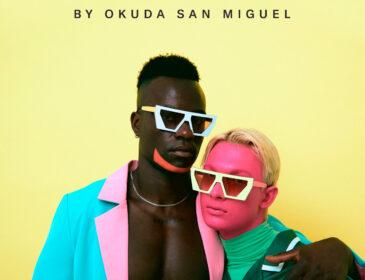 Okuda lanza una línea de gafas de sol para compartir su colorida visión del mundo.
