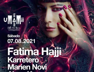 UMAMII, un line-up de primera en Granada con los djs Fatima Hajji, Karretero, Marien Novi y Alexs Kamara