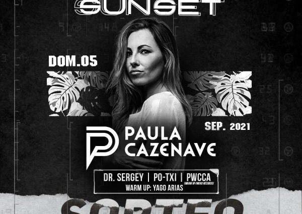 Paula Cazenave en Sunset by Enjoy Bonamara el domingo 5 de septiembre.
