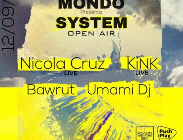 MONDO DISKO vuelve con SYSTEM OPEN AIR el domingo 12 de septiembre
