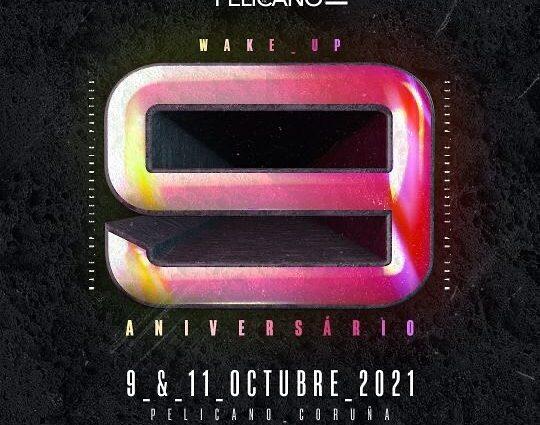 9º aniversario de Wake Up con doblete el 9 y 11 de octubre.