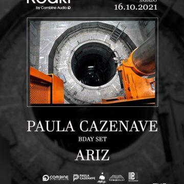 16 Octubre fiesta Reakt en Garage of The Bass Valley en Barcelona.