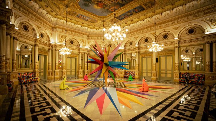 Okuda San Miguel te invita a meditar en el Gran Teatre del Liceu